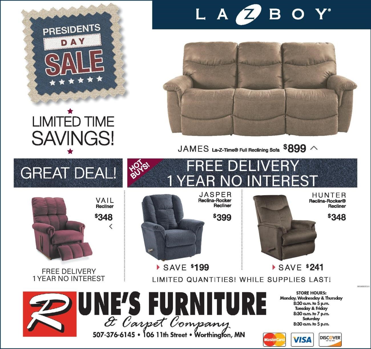 LAY-Z-BOY Extended Sale