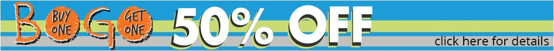 BOGO 50% Header