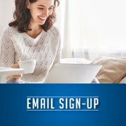 Sign up for emails from Sprintz.