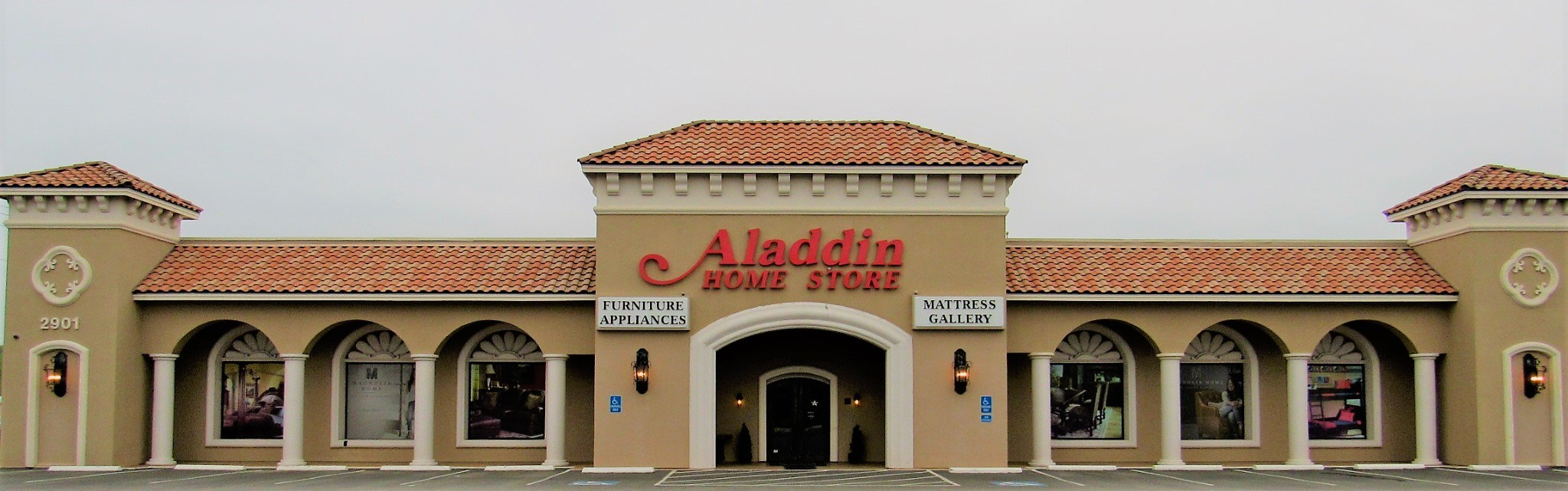 Aladdin Home Store Storefront