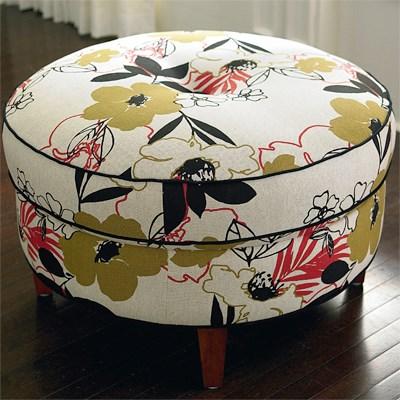 Custom Upholstery Ottomans