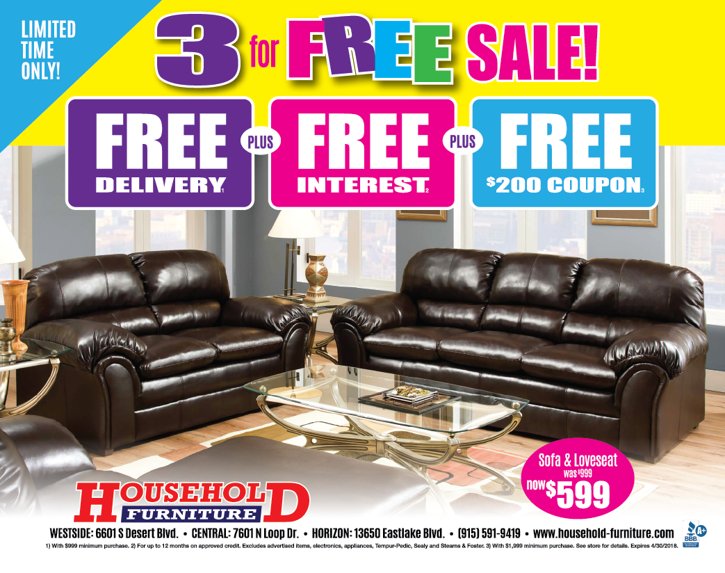 3 for FREE Sale