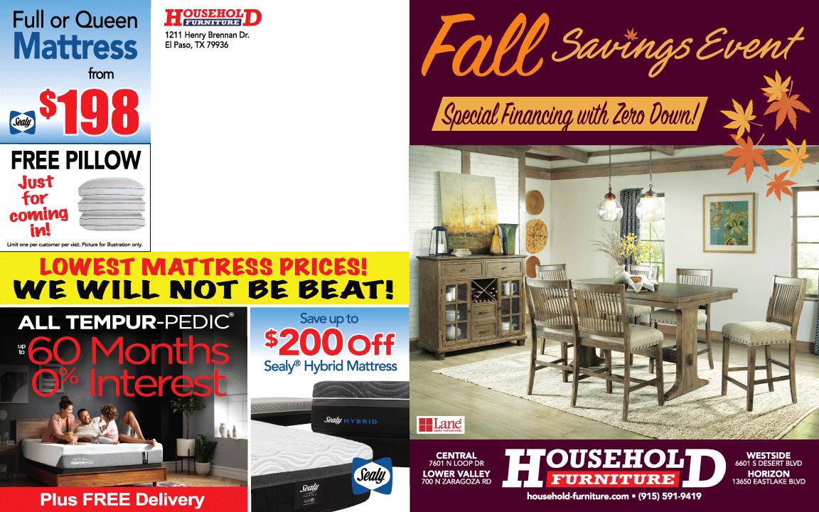 Fall Savings Event Catalog