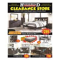 October Clearance Ad