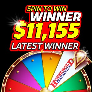 spin to win - last winner won $11,155