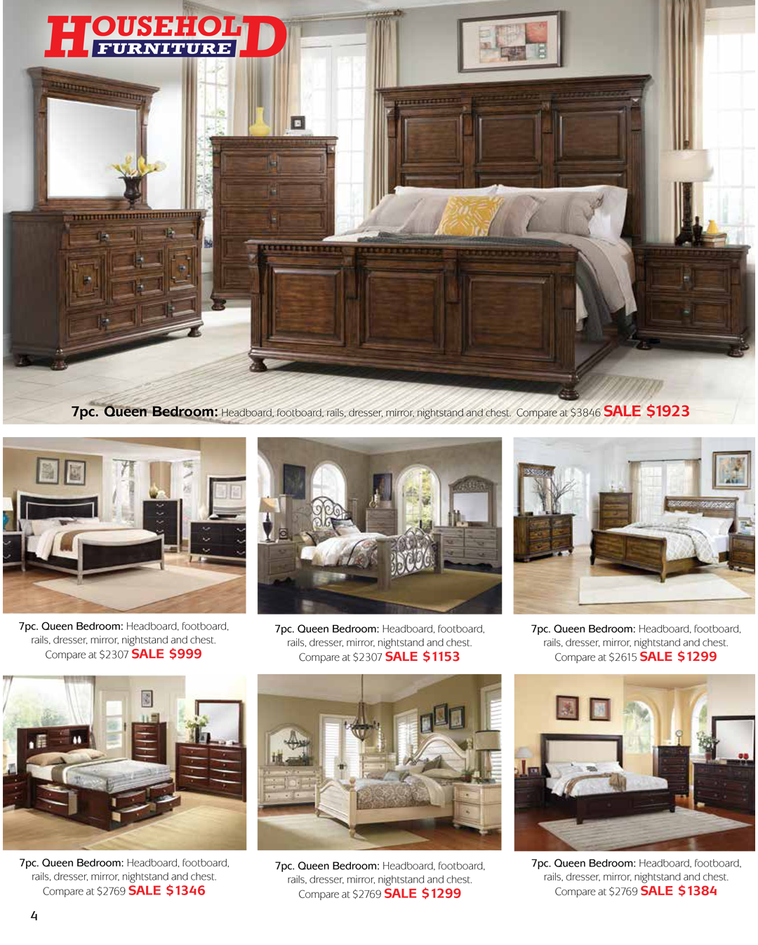 Grand Opening Sale Household Furniture