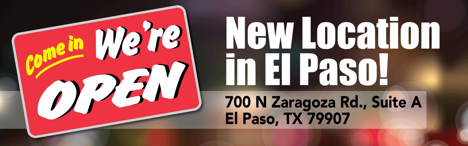 New Location Zaragoza