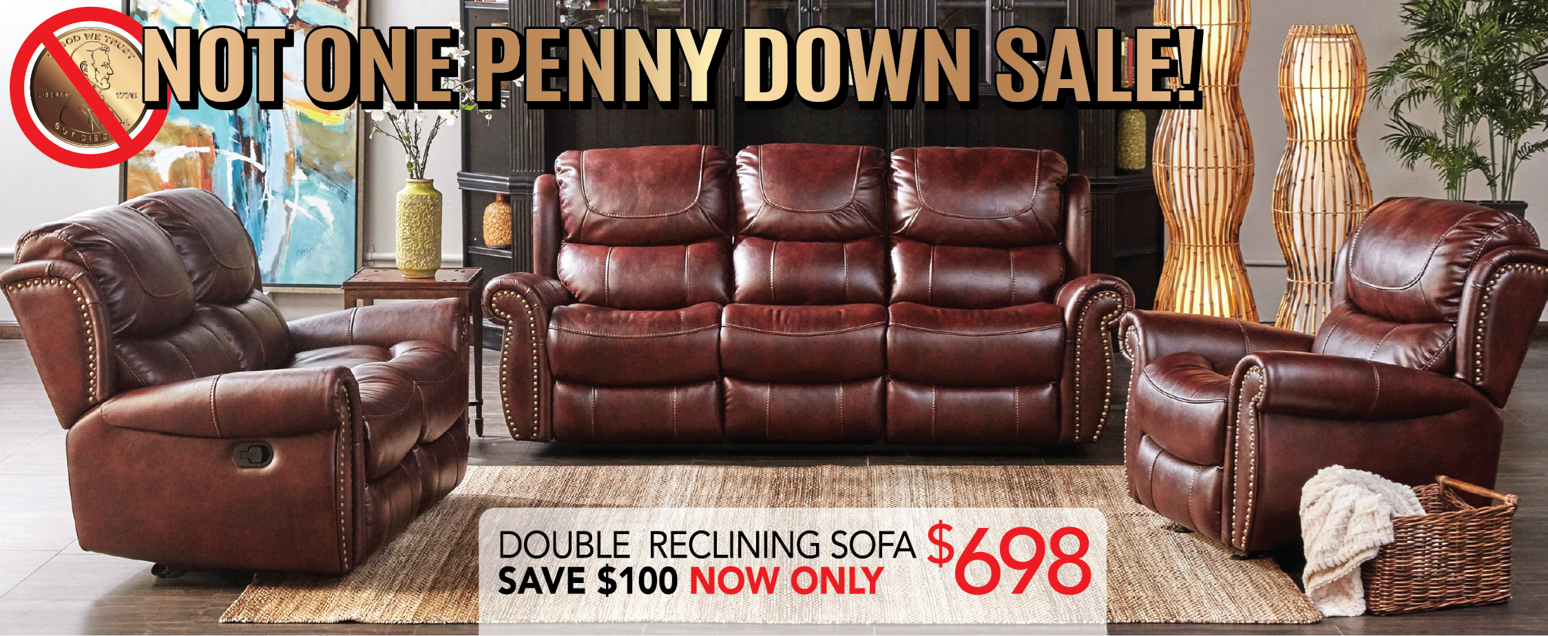 NOT ONE PENNY DOWN SALE