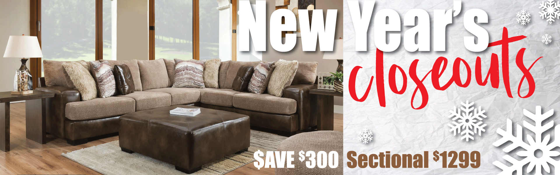 New Years Closeouts