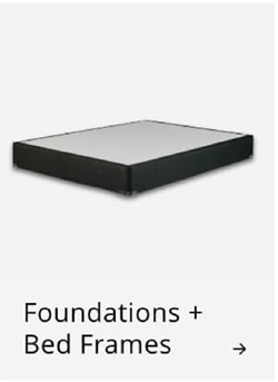 Foundations and bed frames