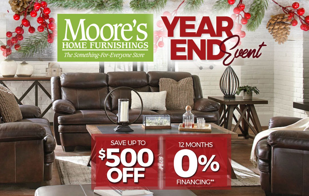 Year End Event! Up to $500 Off Plus 12 Months 0% Financing!