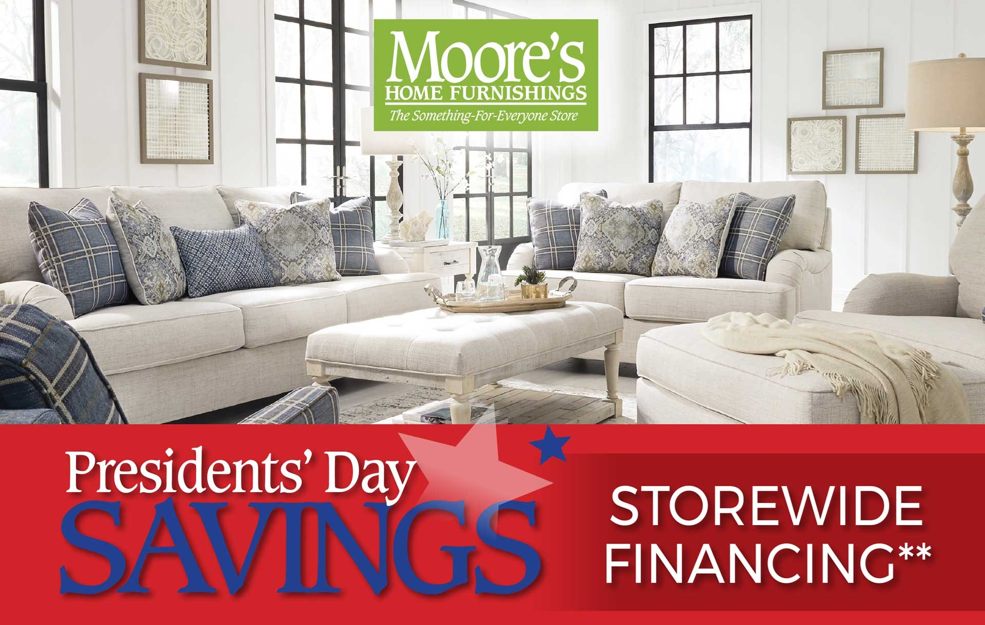 President's Day Sale Going on Now! Discounts Equal to the Sales Tax plus 12 Months Interest Free Financing!