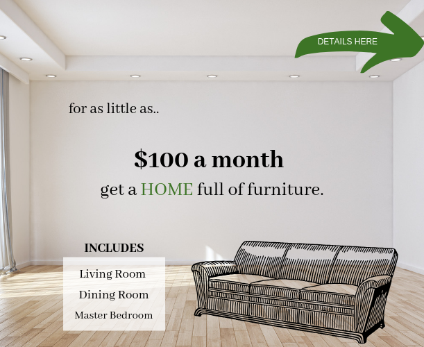 Entire Home for $100 per Month
