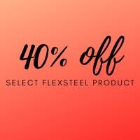 Flexsteel 40% off special on homepage.