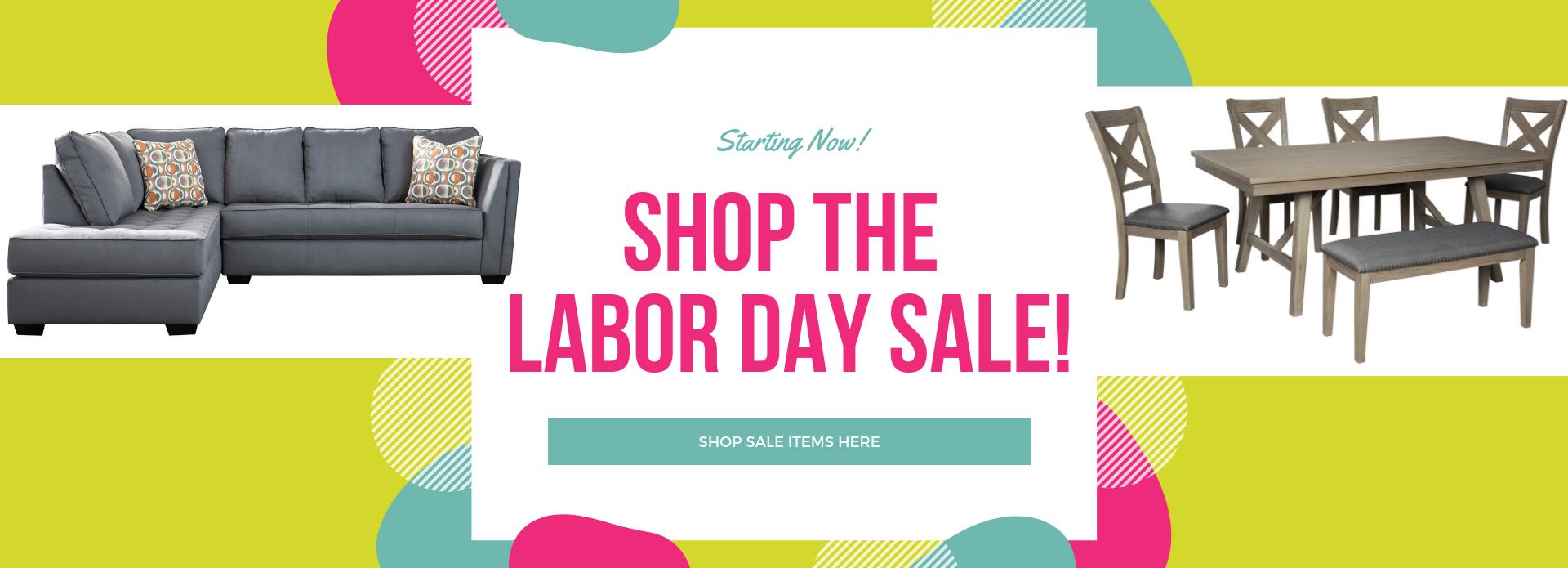 Labor Day Sale info