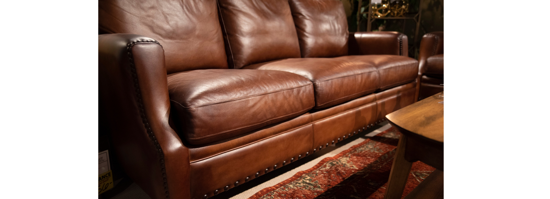 leather sofa photo