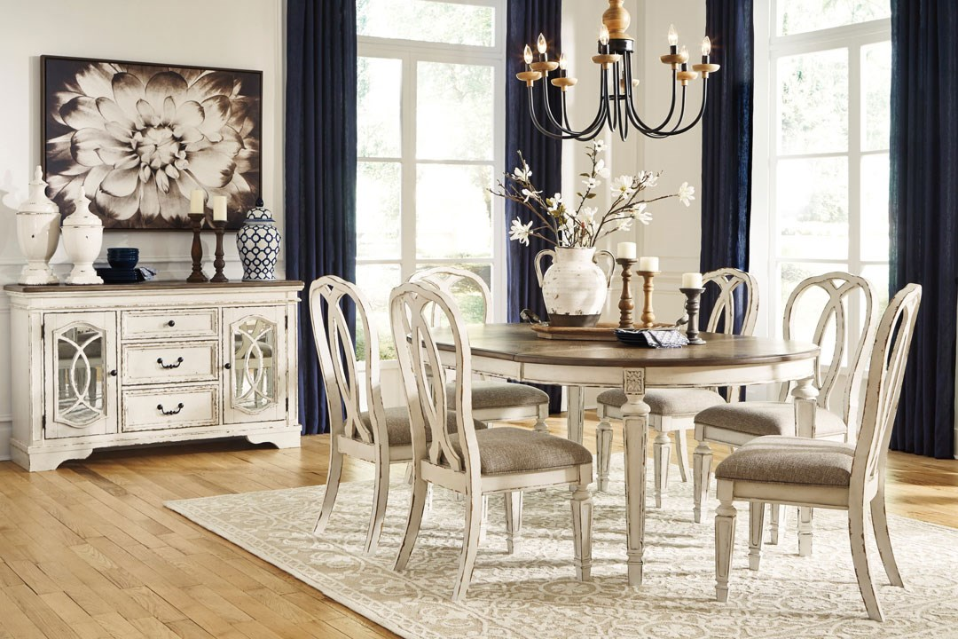 Antique White Dining