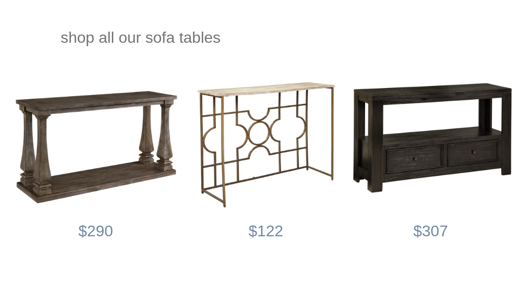 Sofa Table Photo and Link