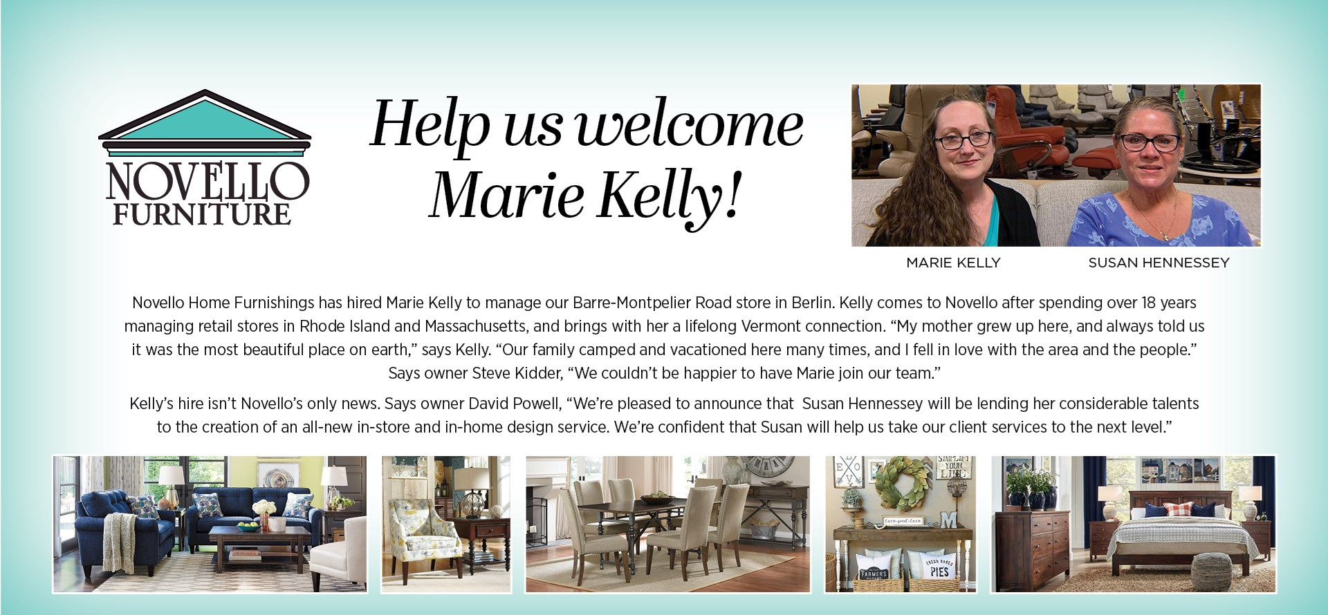 Welcome Marie Kelly