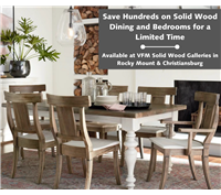 Solid Wood Dining, solid wood bedrooms, made in usa, made in america