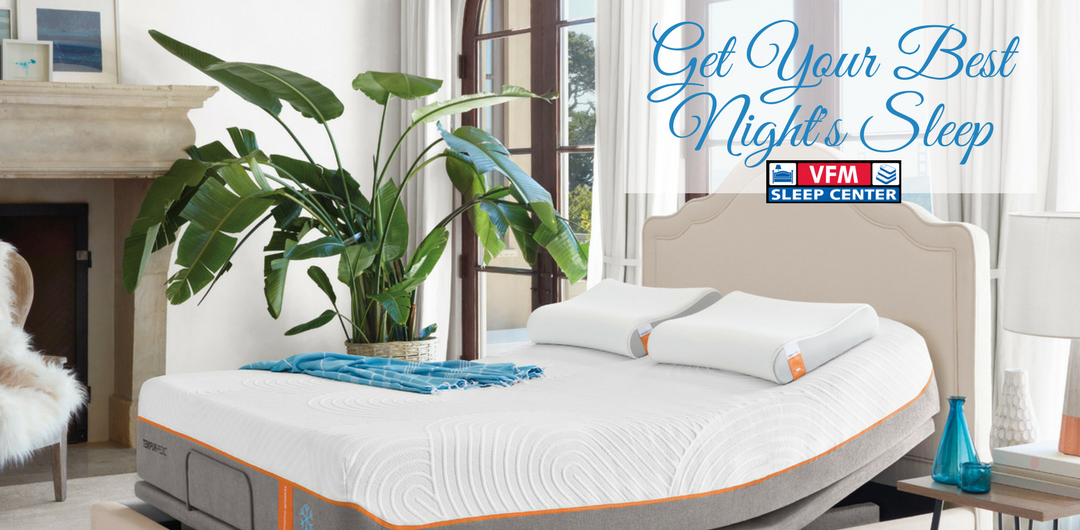 Mattress Bed TempurPedic Adjustable Base Comfort Sealy Stearns and Foster King Koil Bed