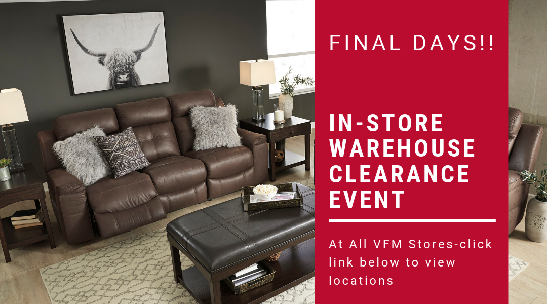Warehouse Clearance Event 2019