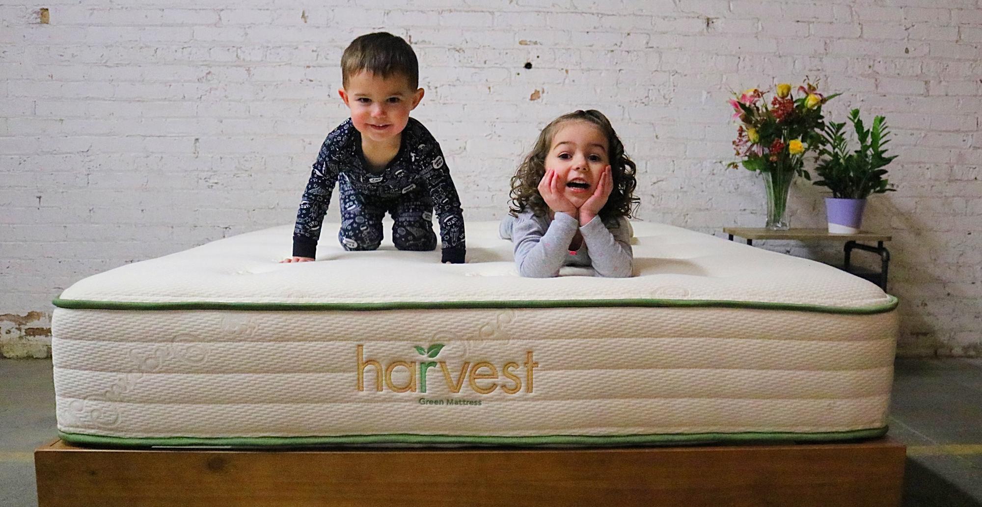 Kids on a Harvest Mattress