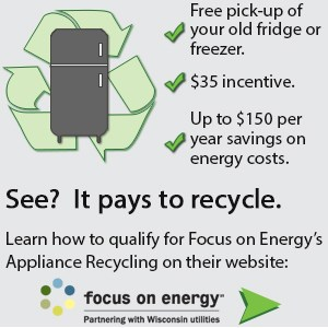 Focus on Energy Appliance Recycling