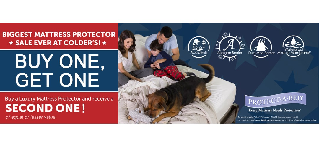 Protect a bed buy one get one sale
