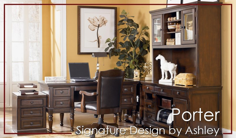 Porter by Signature Design Home office