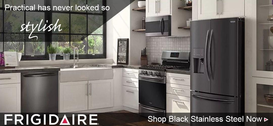Frigidaire black stainless steel