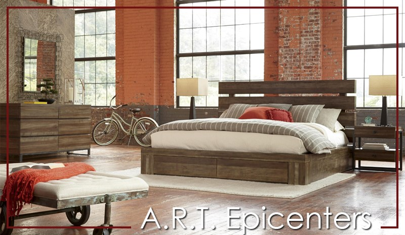 Epicenters by A.R.T. furniture bedroom