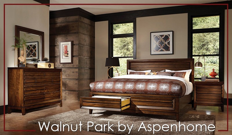 Walnut Park by Aspenhome Bedroom