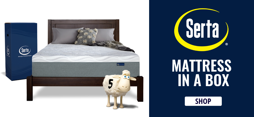 Shop Serta Mattress in a Box!