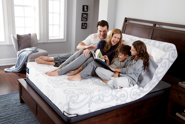 Perfect Sleeper featuring the Perfect Sleeper Mattress on the new Pivot Adjustable Base.