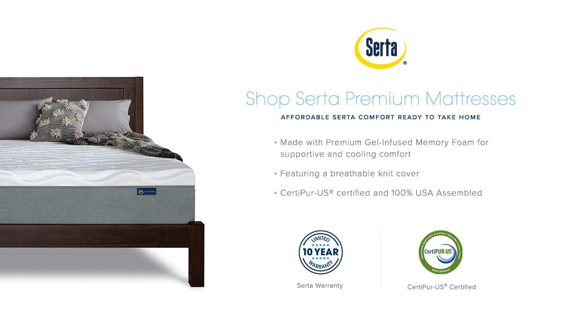 Serta Premium Mattress