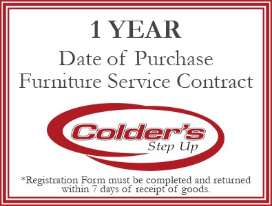 1 Year furniture warranty