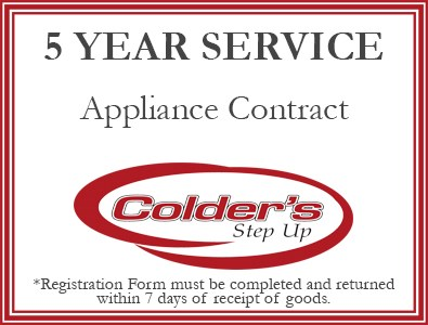 5 year extended appliance warranty