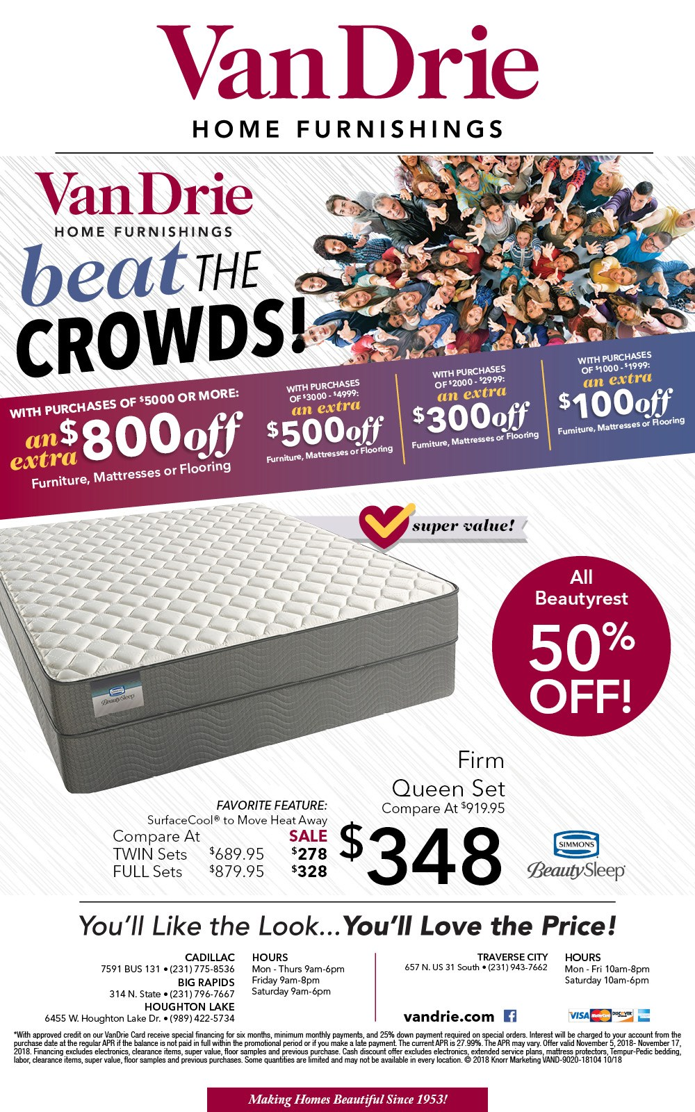 Beat The Crowds Sale