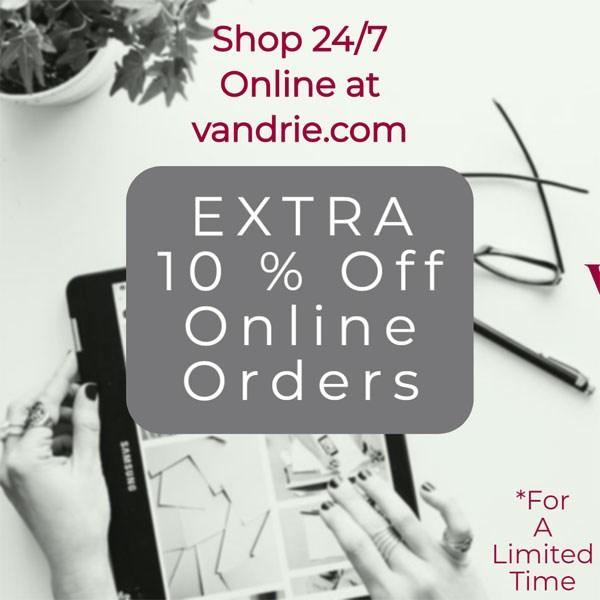 10% Off Online Sale