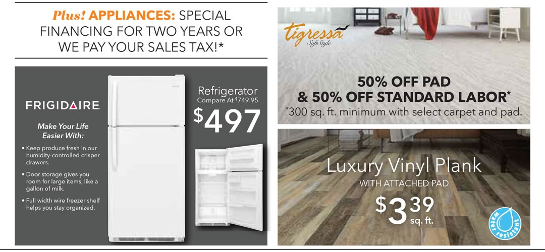 Flooring/Appliance
