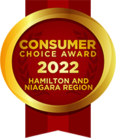 Consumer Choice Award 2022 - Hamilton & Niagara Region
