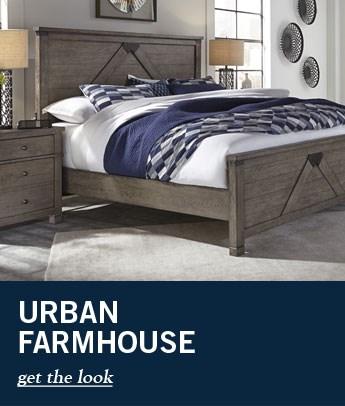 Urban Farmhouse Bed