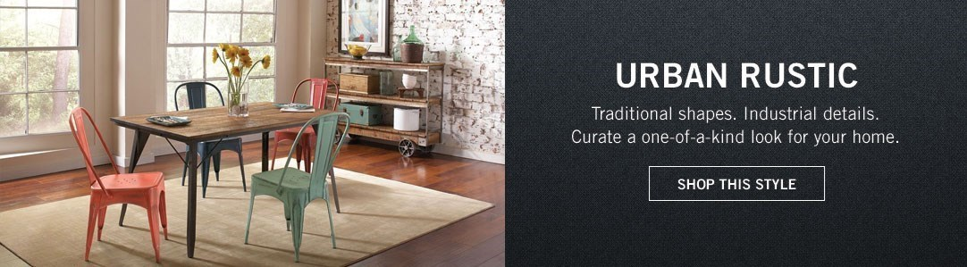 Urban Rustic Style - click here to view