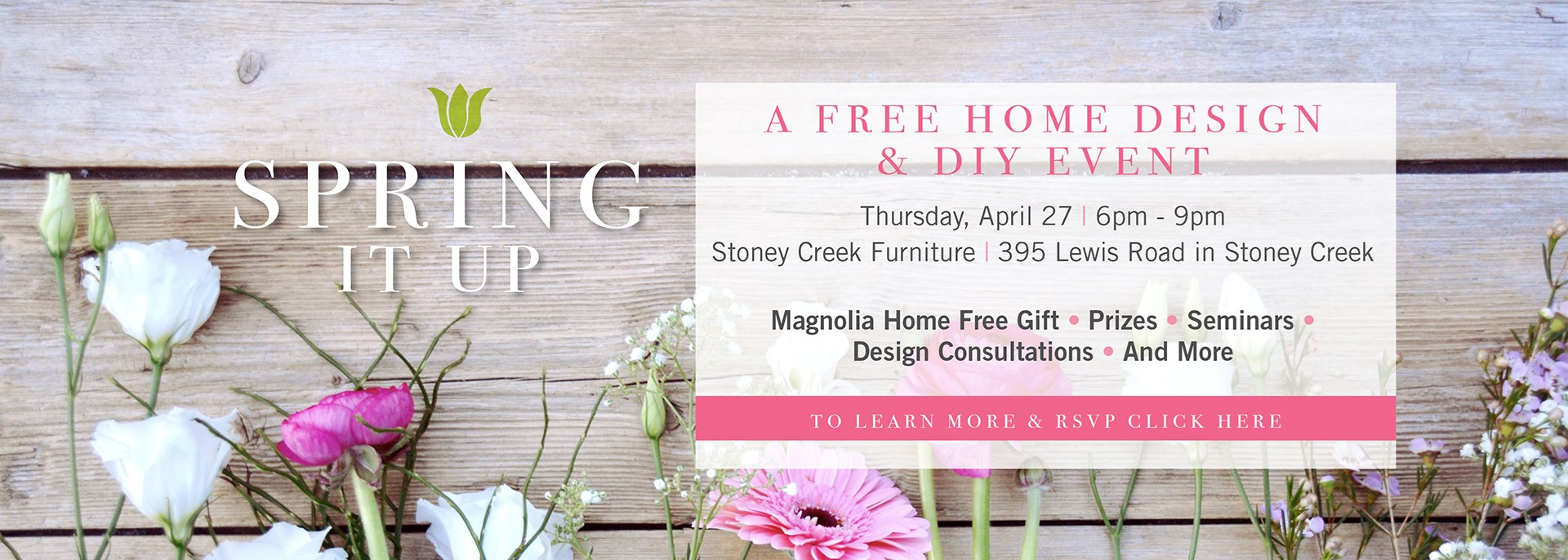 Spring It Up Event