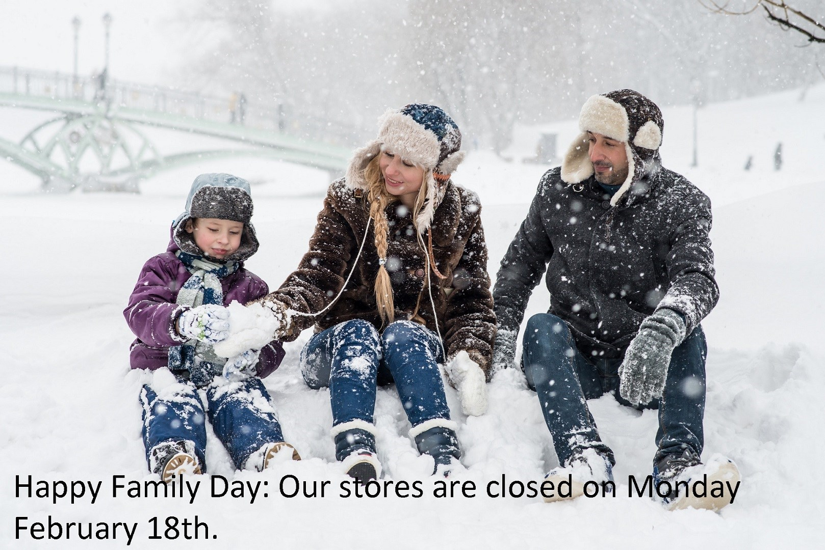 Family Day Closed