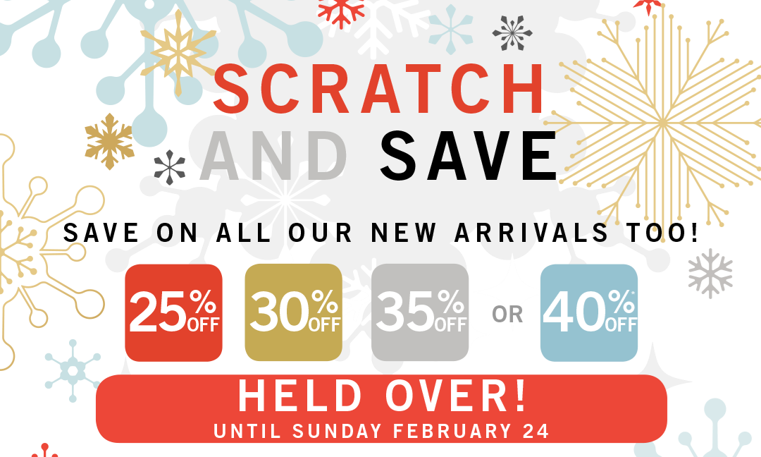 scratch and save held over
