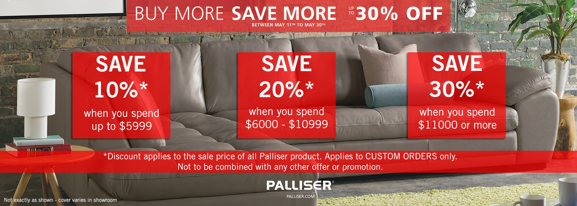 Palliser Buy More Save More Event
