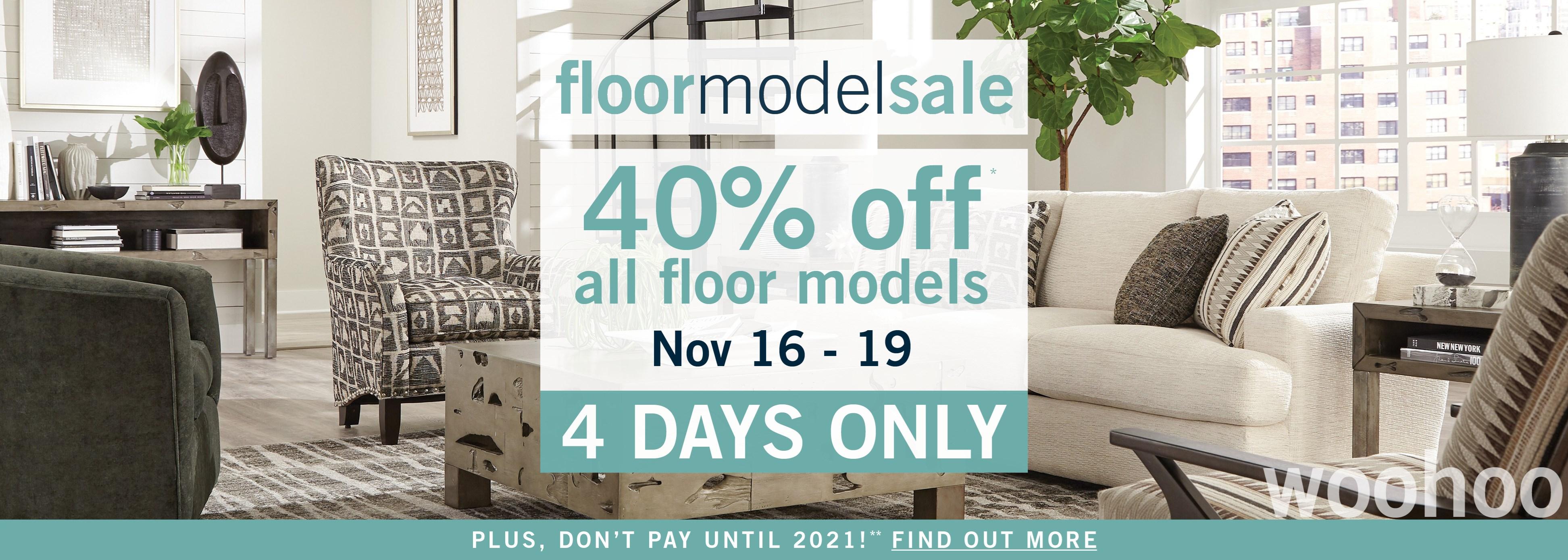 Floor Model - FAll 19
