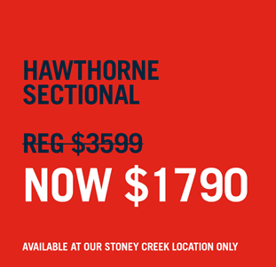 shop our hawthorne sectional now $1790
